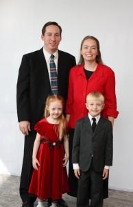 Pastor Jon, Becky, Emily and Joshua